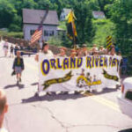 Orland Boy Scouts lead the parade in 1997